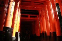 Brillo del inari de Fushimi Foto de archivo libre de regalías