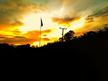 brillo del sol Fotografía de archivo libre de regalías