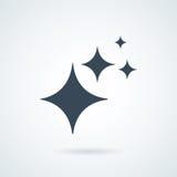 brillo el icono aisló símbolo de la muestra y el estilo plano para el app, el web y el diseño digital Foto de archivo libre de regalías
