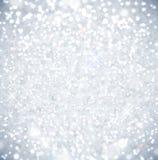 Brillo en nieve del sol ilustración del vector