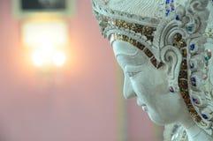 Brillo ligero en la estatua Imagenes de archivo