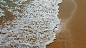 Brillo temporal del mar en la playa Foto de archivo