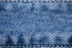 Brim azul fundo textured Fotos de Stock Royalty Free