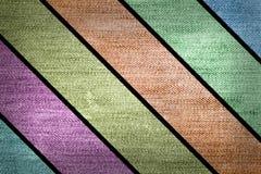 Brim colorido das listras de Grunge Imagem de Stock