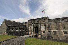 Brimstone Hill Fortress Stock Photography