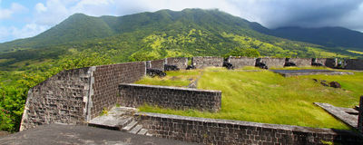 Brimstone Hill Fortress - St Kitts Royalty Free Stock Photos