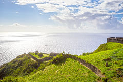 Brimstone Hill Fortress in St. Kitts Royalty Free Stock Photos