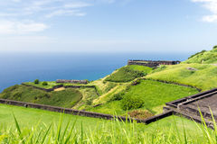 Brimstone hill fortress, St. Kitts and Nevis Stock Image