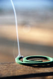 Brin de fumée Image libre de droits