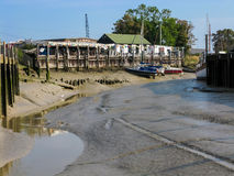 Brin Quay à Rye, Angleterre, R-U Photo libre de droits