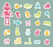 Brinca o ícone Foto de Stock