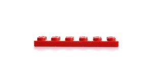 Brinca os legos isolados no fundo branco Foto de Stock