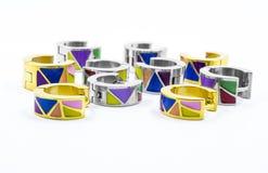 Brincos coloridos Imagem de Stock