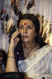 Brinda Karat at Rally. Brinda Karat at a women rally in Kolkata Stock Photo