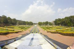 Brindaban Gardens close to Mysore Stock Photo