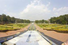 Brindaban ogródy blisko do Mysore Zdjęcie Stock
