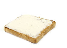 Brinde com manteiga Foto de Stock Royalty Free
