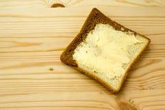 Brinde com manteiga Imagem de Stock