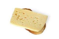 Brinde com queijo Imagem de Stock