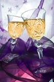 Brinde de Champagne Fotos de Stock Royalty Free