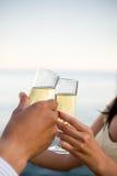 Brinde de Champagne Foto de Stock Royalty Free