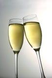 Brinde de Champagne Foto de Stock