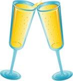 Brinde de Champagne Imagens de Stock Royalty Free