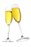 Brinde de Champagne Imagem de Stock
