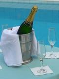 Brinde de Champagne Imagens de Stock