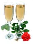 Brinde do casamento Imagem de Stock Royalty Free
