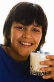 Brinde do leite Imagem de Stock Royalty Free