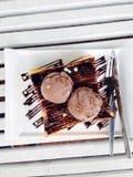 Brinde do mel do chocolate Fotografia de Stock Royalty Free