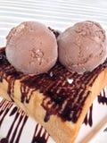 Brinde do mel do chocolate Foto de Stock
