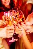 Brinde para a amizade Imagem de Stock