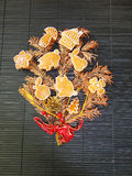 Brindille de Noël Photographie stock