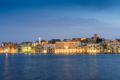 Brindisi city center, Puglia, south of Italy. Europe stock photo