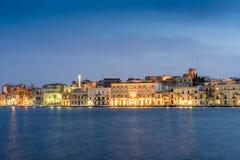 Brindisi-Stadtzentrum, Puglia, südlich von Italien Stockfoto