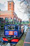 Brindley Place in Birmingham, England Royalty Free Stock Photos