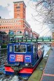 Brindleyplaats in Birmingham, Engeland royalty-vrije stock foto's