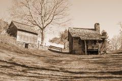 Brinegar Cabin – Blue Ridge Parkway Royalty Free Stock Photography