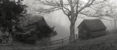 Brinegar kabin Fotografering för Bildbyråer