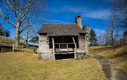 """Brinegarcabine †""""Blauw Ridge Parkway, het Noorden Caroline, de V.S. - 2 Royalty-vrije Stock Afbeelding"""