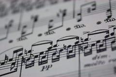 Bring Back The Music - Sheet Music Royalty Free Stock Photos