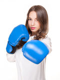 Bring on the fight. Royalty Free Stock Images