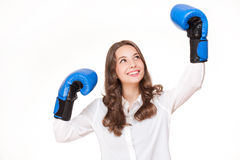 Bring on the fight. Royalty Free Stock Photo