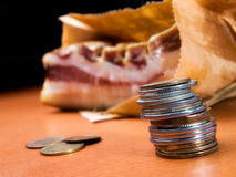 Bring home the bacon Royalty Free Stock Images