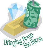 Bring Home The Bacon Stock Images