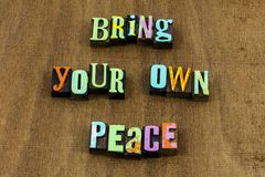 Free Bring Inner Peace Give Chance Purity Hope Help Kindness Stock Images - 150672824