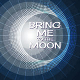 Bring me to the moon. Royalty Free Stock Image
