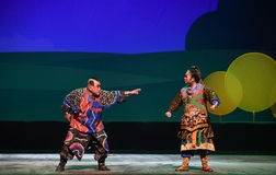 "bring to account-Children's Beijing Opera""Yue teenager"" Royalty Free Stock Photos"